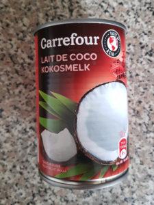 carrefour lait de coco